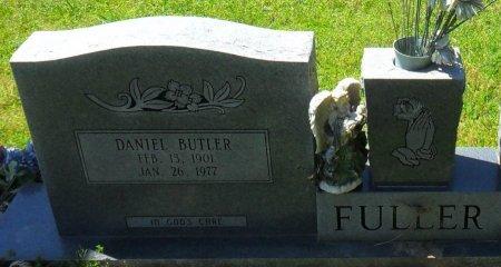 FULLER, DANIEL BUTLER (CLOSE UP) - Franklin County, Louisiana | DANIEL BUTLER (CLOSE UP) FULLER - Louisiana Gravestone Photos