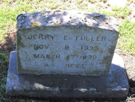 FULLER, JERRY E (FOOTSTONE) - Franklin County, Louisiana | JERRY E (FOOTSTONE) FULLER - Louisiana Gravestone Photos