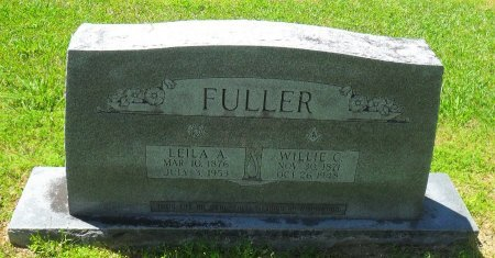 FULLER, LEILA A - Franklin County, Louisiana | LEILA A FULLER - Louisiana Gravestone Photos