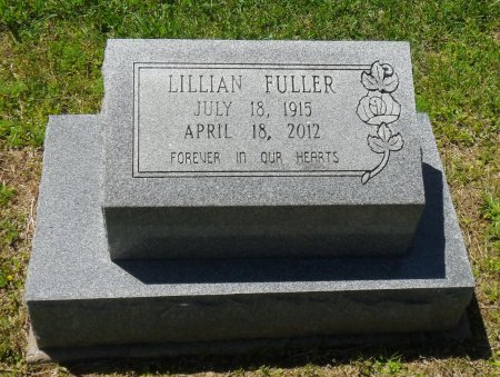 FULLER, LILLIAN - Franklin County, Louisiana   LILLIAN FULLER - Louisiana Gravestone Photos