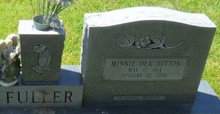 FULLER, MINNIE OLA (CLOSE UP) - Franklin County, Louisiana   MINNIE OLA (CLOSE UP) FULLER - Louisiana Gravestone Photos