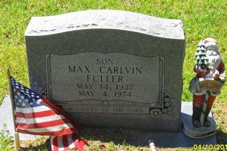 FULLER, MAX CARLVIN - Franklin County, Louisiana   MAX CARLVIN FULLER - Louisiana Gravestone Photos