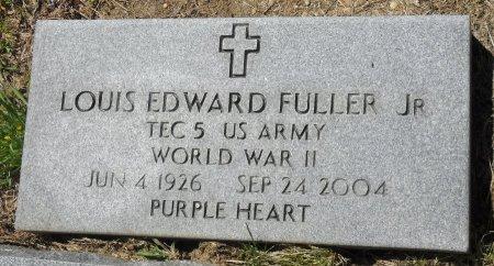 FULLER  , LOUIS EDWARD, JR  (VETERAN WWII) - Franklin County, Louisiana | LOUIS EDWARD, JR  (VETERAN WWII) FULLER   - Louisiana Gravestone Photos