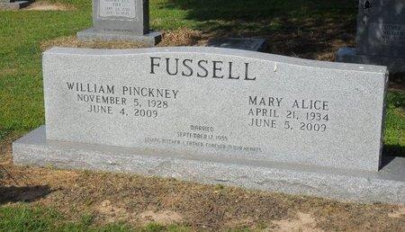 FUSSELL, WILLIAM PINCKNEY - Franklin County, Louisiana   WILLIAM PINCKNEY FUSSELL - Louisiana Gravestone Photos