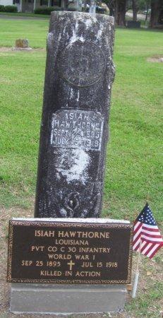 HAWTHORNE  , ISIAH (VETERAN WWI, KIA) - Franklin County, Louisiana | ISIAH (VETERAN WWI, KIA) HAWTHORNE   - Louisiana Gravestone Photos