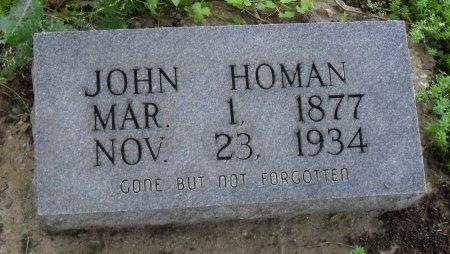 HOMAN, JOHN - Franklin County, Louisiana   JOHN HOMAN - Louisiana Gravestone Photos