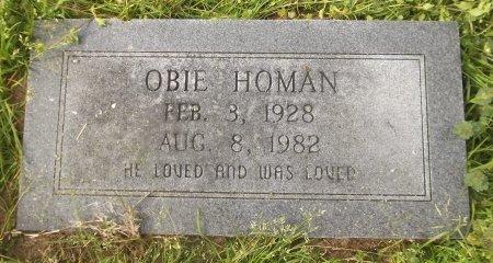 HOMAN, OBIE - Franklin County, Louisiana | OBIE HOMAN - Louisiana Gravestone Photos