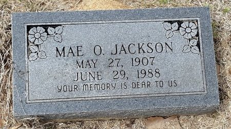 JACKSON, MAE O - Franklin County, Louisiana   MAE O JACKSON - Louisiana Gravestone Photos