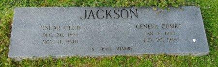 JACKSON, OSCAR CECIL - Franklin County, Louisiana | OSCAR CECIL JACKSON - Louisiana Gravestone Photos