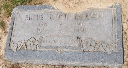 JACKSON, RUFUS FLOYD - Franklin County, Louisiana | RUFUS FLOYD JACKSON - Louisiana Gravestone Photos