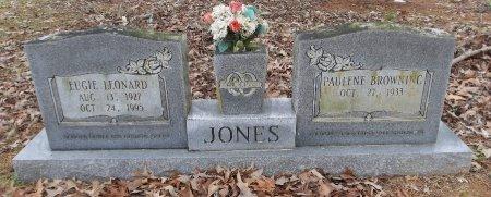 JONES, EUGIE LEONARD - Franklin County, Louisiana | EUGIE LEONARD JONES - Louisiana Gravestone Photos