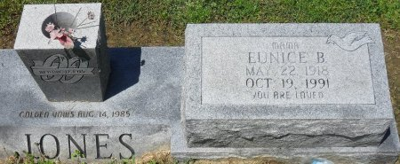 JONES, EUNICE B (CLOSE UP) - Franklin County, Louisiana | EUNICE B (CLOSE UP) JONES - Louisiana Gravestone Photos