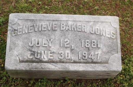 JONES, GENEVIEVE - Franklin County, Louisiana | GENEVIEVE JONES - Louisiana Gravestone Photos