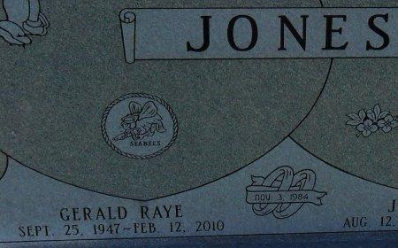 JONES, GERALD RAYE (CLOSE UP) - Franklin County, Louisiana   GERALD RAYE (CLOSE UP) JONES - Louisiana Gravestone Photos