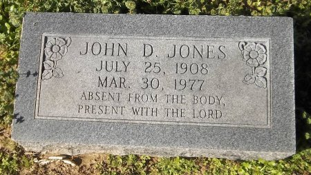 JONES, JOHN D - Franklin County, Louisiana | JOHN D JONES - Louisiana Gravestone Photos