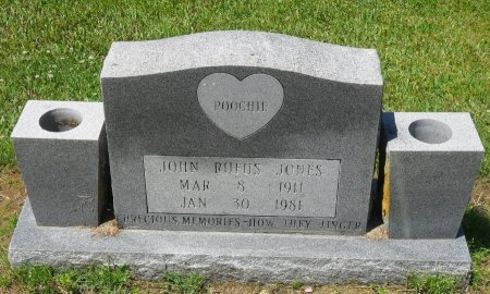 "JONES, JOHN RUFUS ""POOCHIE"" - Franklin County, Louisiana   JOHN RUFUS ""POOCHIE"" JONES - Louisiana Gravestone Photos"
