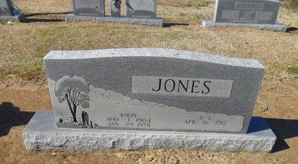 JONES, KIRBY - Franklin County, Louisiana | KIRBY JONES - Louisiana Gravestone Photos