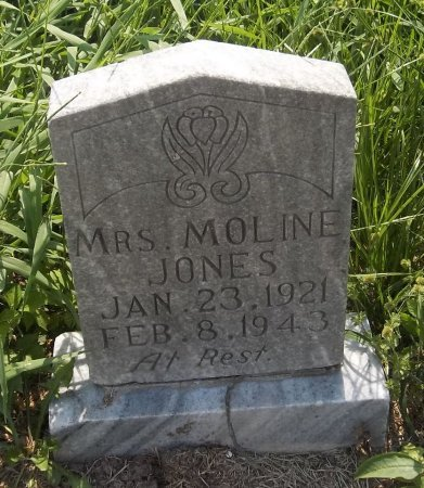 JONES, MOLINE - Franklin County, Louisiana | MOLINE JONES - Louisiana Gravestone Photos