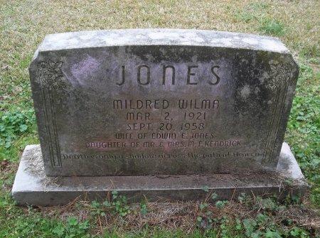 JONES, MILDRED WILMA - Franklin County, Louisiana | MILDRED WILMA JONES - Louisiana Gravestone Photos