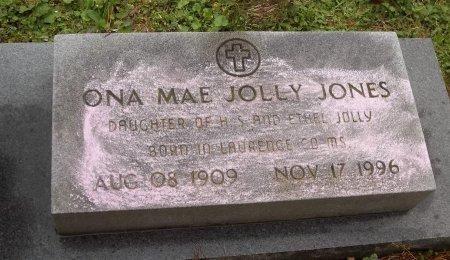 JONES, ONA MAE (CLOSE UP) - Franklin County, Louisiana | ONA MAE (CLOSE UP) JONES - Louisiana Gravestone Photos