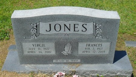 JONES, VIRGIL - Franklin County, Louisiana | VIRGIL JONES - Louisiana Gravestone Photos