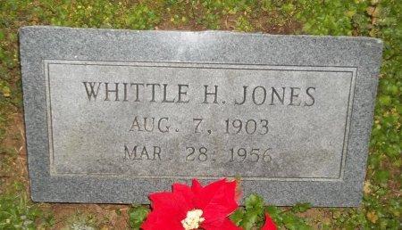 JONES, WHITTLE H - Franklin County, Louisiana | WHITTLE H JONES - Louisiana Gravestone Photos
