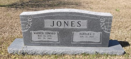 JONES, WARREN EDWARD - Franklin County, Louisiana   WARREN EDWARD JONES - Louisiana Gravestone Photos