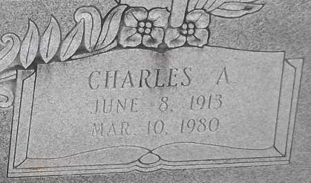 LEWIS, CHARLES A (CLOSE UP) - Franklin County, Louisiana | CHARLES A (CLOSE UP) LEWIS - Louisiana Gravestone Photos