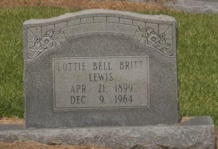 LEWIS, LOTTIE BELL - Franklin County, Louisiana | LOTTIE BELL LEWIS - Louisiana Gravestone Photos