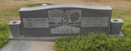 LILES, ERIS - Franklin County, Louisiana | ERIS LILES - Louisiana Gravestone Photos