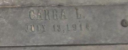 LILES, CARRA (CLOSE UP) - Franklin County, Louisiana | CARRA (CLOSE UP) LILES - Louisiana Gravestone Photos