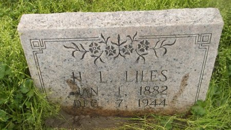 LILES, H L - Franklin County, Louisiana | H L LILES - Louisiana Gravestone Photos