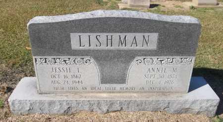 LISHMAN, ANNIE M - Franklin County, Louisiana | ANNIE M LISHMAN - Louisiana Gravestone Photos