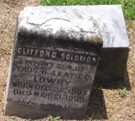 LOWRY, CLIFFORD SOLOMON - Franklin County, Louisiana   CLIFFORD SOLOMON LOWRY - Louisiana Gravestone Photos