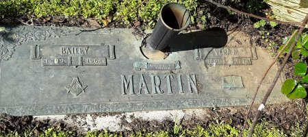 MARTIN, BAILEY - Franklin County, Louisiana | BAILEY MARTIN - Louisiana Gravestone Photos