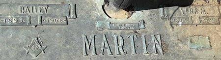 MARTIN, BAILEY (CLOSE UP) - Franklin County, Louisiana | BAILEY (CLOSE UP) MARTIN - Louisiana Gravestone Photos