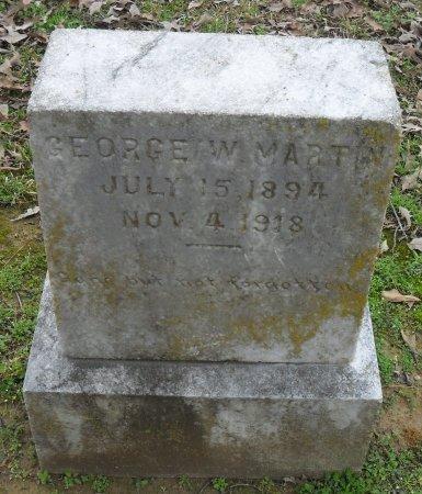 MARTIN, GEORGE W - Franklin County, Louisiana | GEORGE W MARTIN - Louisiana Gravestone Photos
