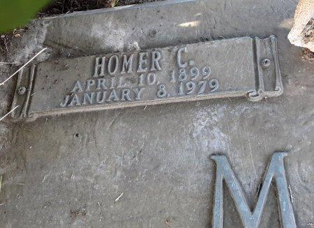 MARTIN, HOMER C (CLOSE UP) - Franklin County, Louisiana | HOMER C (CLOSE UP) MARTIN - Louisiana Gravestone Photos