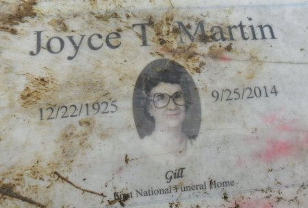 MARTIN, JOYCE (CLOSE UP) - Franklin County, Louisiana   JOYCE (CLOSE UP) MARTIN - Louisiana Gravestone Photos