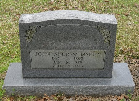 MARTIN, JOHN ANDREW - Franklin County, Louisiana | JOHN ANDREW MARTIN - Louisiana Gravestone Photos