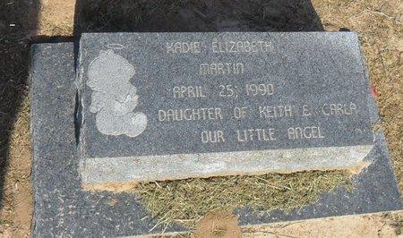 MARTIN, KADIE ELIZABETH - Franklin County, Louisiana | KADIE ELIZABETH MARTIN - Louisiana Gravestone Photos