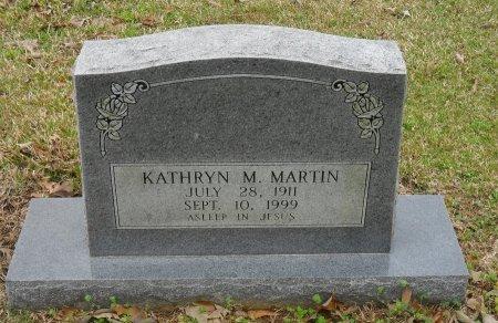 MARTIN, KATHRYN M - Franklin County, Louisiana   KATHRYN M MARTIN - Louisiana Gravestone Photos