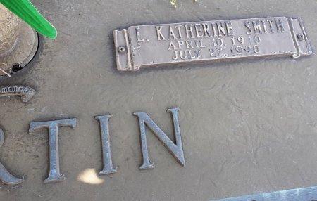MARTIN, L KATHERINE (CLOSE UP) - Franklin County, Louisiana   L KATHERINE (CLOSE UP) MARTIN - Louisiana Gravestone Photos