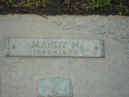 MARTIN, MANDY M (CLOSE UP) - Franklin County, Louisiana | MANDY M (CLOSE UP) MARTIN - Louisiana Gravestone Photos