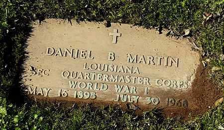MARTIN, DANIEL B  (VETERAN WWI) - Franklin County, Louisiana | DANIEL B  (VETERAN WWI) MARTIN - Louisiana Gravestone Photos