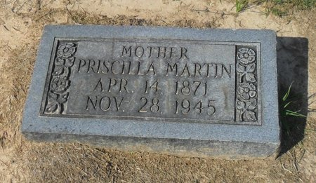 MARTIN, PRISCILLA - Franklin County, Louisiana | PRISCILLA MARTIN - Louisiana Gravestone Photos