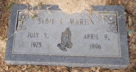 MARTIN, SYBIL G - Franklin County, Louisiana | SYBIL G MARTIN - Louisiana Gravestone Photos