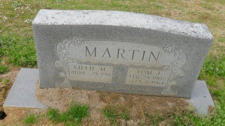MARTIN, TOM J - Franklin County, Louisiana | TOM J MARTIN - Louisiana Gravestone Photos