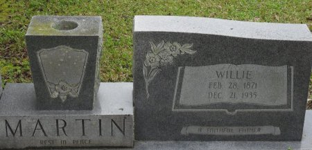 MARTIN, WILLIE (CLOSE UP) - Franklin County, Louisiana | WILLIE (CLOSE UP) MARTIN - Louisiana Gravestone Photos