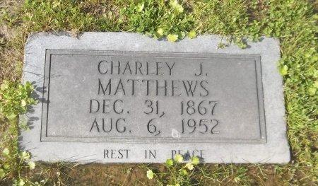 MATTHEWS, CHARLEY J - Franklin County, Louisiana | CHARLEY J MATTHEWS - Louisiana Gravestone Photos